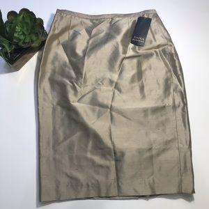 DANA BUCHMAN Silk Skirt NWT - Size 6